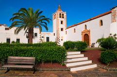 Betancuria church at Fuerteventura Royalty Free Stock Photos