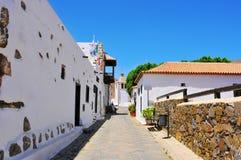 Betancuria in Fuerteventura, Canarische Eilanden, Spanje stock afbeelding