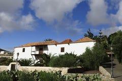 Betancuria - het vroegere kapitaal van Fuerteventura Stock Foto's