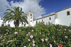 Betancuria - Kathedraal van St. Mary van Betancuria Royalty-vrije Stock Afbeeldingen