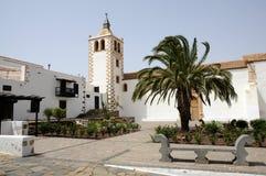 betancuria kyrkliga fuerteventura Arkivbild