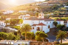 Betancuria by på den Fuerteventura ön Royaltyfri Bild