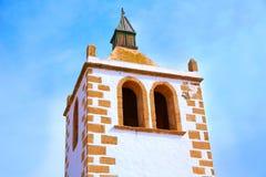 Betancuria Santa Maria church Fuerteventura Stock Photography
