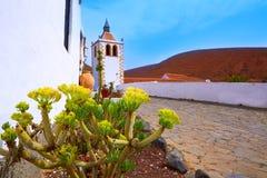 Betancuria Santa Maria church Fuerteventura Stock Image