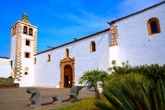 Betancuria Santa Maria church Fuerteventura Royalty Free Stock Photo