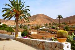 Betancuria village Fuerteventura Canary Islands Royalty Free Stock Photo