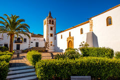 Betancuria village on Fuerteventura island stock image