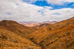 Betancuria volcanic Fuerteventura island Canary Royalty Free Stock Photo