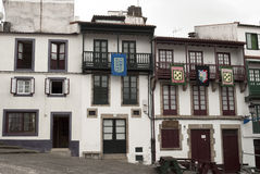 Betanzos Facades Royalty Free Stock Photography