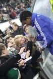 Betao van Dynamo Kyiv geeft autographs Royalty-vrije Stock Fotografie