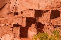 Betatakin cliff house. Ancestral puebloan cliff house in navaho national monument Royalty Free Stock Images