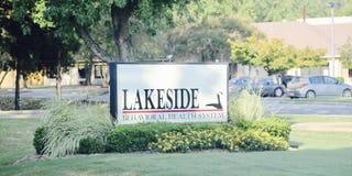 Beteende- vård- system för Lakeside, Memphis, TN arkivbild