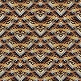 Betegeld meander naadloos patroon stock illustratie