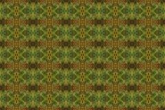 Betegeld patroon van een close-up van een de herfstblad vector illustratie