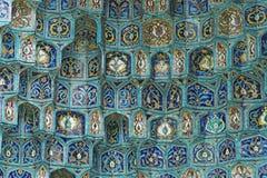 Betegelde muur Royalty-vrije Stock Fotografie