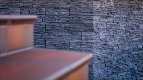 Betegelde stappen, steen Stock Afbeelding