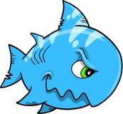 Beteken de VectorIllustratie van de haai royalty-vrije illustratie