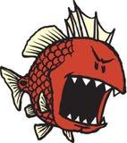 Beteken Rode Vissen Stock Foto's