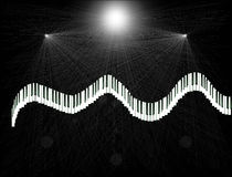 Betekenis van muziek Stock Afbeelding