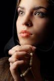 Beten Stockbild