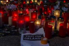 Beten Sie für Orlando Lizenzfreie Stockfotografie
