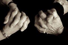 Beten Sie zusammen. Lizenzfreie Stockfotos