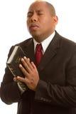 Beten zum Gott Lizenzfreies Stockfoto
