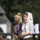 Betende Frauen Stockfoto