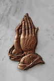 Betende Hände Lizenzfreie Stockbilder