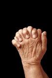 Betende Hände Stockfotos