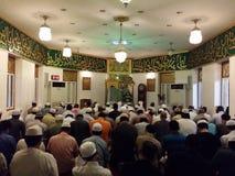 Betende Halle des Islams Lizenzfreie Stockfotografie
