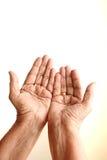 Betende Hände Lizenzfreie Stockfotos