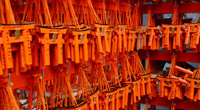 Betende Karten in Kyoto Lizenzfreies Stockfoto