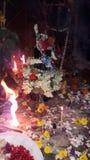 Betende Zeiten des Lords Shiva stockbilder