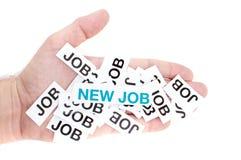 Betere baan, nieuwe baan, hoogste baan Royalty-vrije Stock Afbeeldingen