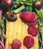 Beterrabas orgânicas frescas Foto de Stock