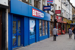 Betfred Photo stock
