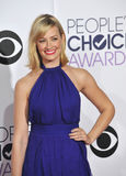 Beth Behrs. LOS ANGELES, CA - JANUARY 7, 2015: Beth Behrs at the 2015 People's Choice  Awards at the Nokia Theatre L.A. Live downtown Los Angeles Royalty Free Stock Image