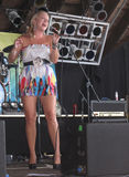 Beth Davis - amerikanisches Honig-Band Stockbild