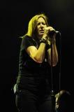Beth Gibbons di Portishead esegue al festival di musica 2011 dell'USCITA Immagine Stock
