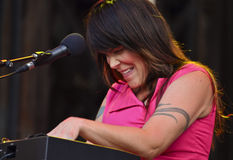 Beth hart at montreal jazz festival Royalty Free Stock Photos
