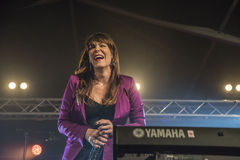 Beth Hart singing Stock Image