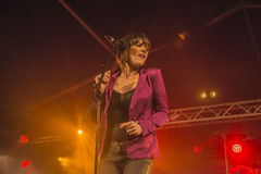 Beth Hart singing Royalty Free Stock Image