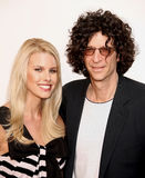Beth Ostrosky and Howard Stern. \Shock Jock\ Howard Stern and wife Beth Ostrosky arrive on the red carpet for the premiere of \The Gardener of Eden,\ at the 6th Stock Photo