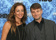 "Beth Whigham and Shea Whigham. Actor Shea Whigham is joined by his wife, Beth Whigham, on the red carpet for the ""Boardwalk Empire"" TV Series SEason 3 New York Stock Photos"