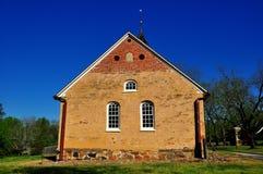 Bethabara, NC: 1788 Gemeinhaus Moravian Church Stock Image