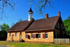 Bethabara, NC: Iglesia 1788 de Gemeinhaus Moravian Imágenes de archivo libres de regalías