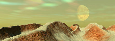 bethal księżyca Fotografia Royalty Free