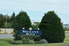 Bethany Beach in Delaware Stockfoto
