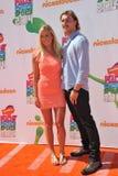 Bethany Hamilton & Adam Dirks Royaltyfri Fotografi